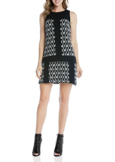 Karen Kane Go Go Ikat Shift Dress