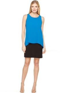 Karen Kane Hallie Double Layer Dress