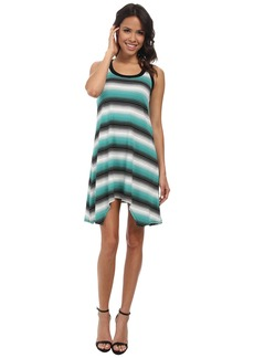 Karen Kane Handkerchief Stripe Dress