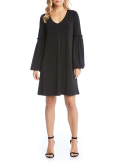 Karen Kane Harper Blouson Sleeve Shift Dress