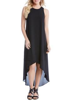 Karen Kane High/Low Crepe Dress