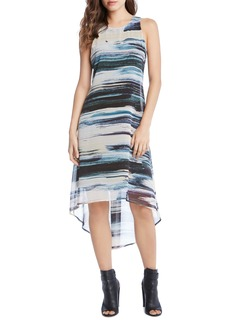 Karen Kane High/Low Hem Maxi Dress