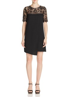 Karen Kane Illusion Lace Shift Dress