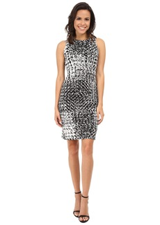 Karen Kane Illusion Print Dress