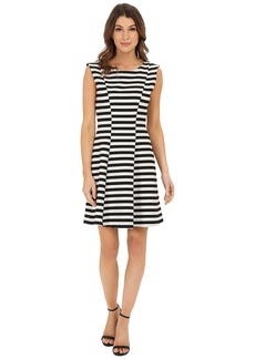 Karen Kane Inverted Stripe Dress