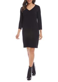 Karen Kane Jane V-Neck Shift Dress