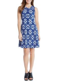 Karen Kane Kaleidoscope Tie Dye A-Line Dress