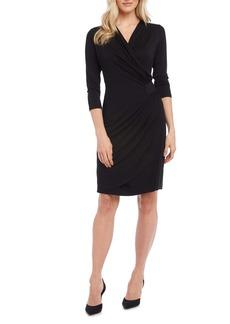 Karen Kane Kate Ruched Waist Tulip Hem Jersey Dress