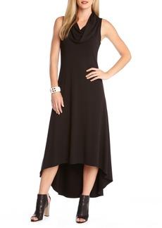 Karen Kane 'Katie' Cowl Neck High/Low Maxi Dress