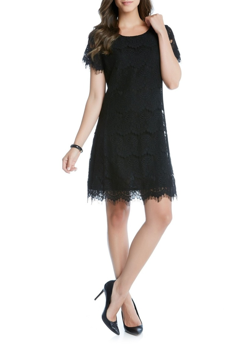 Karen Kane Lace A-Line Dress