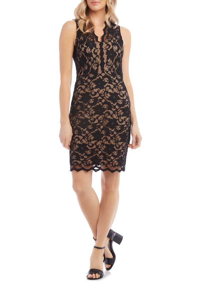Karen Kane Lace Cocktail Dress