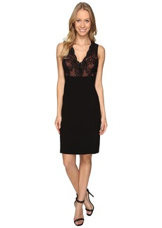 Karen Kane Lace Detail Sheath Dress