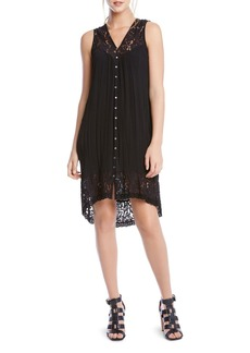 Karen Kane Lace Inset Dress