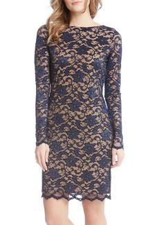 Karen Kane Lace Sheath Dress