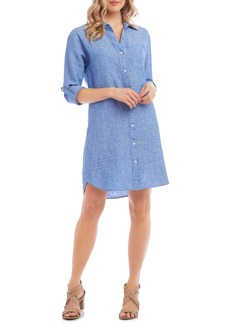 Karen Kane Linen Shirtdress