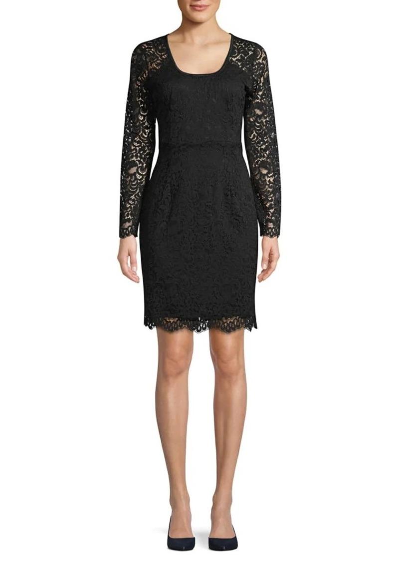 Karen Kane London Lace Sheath Dress