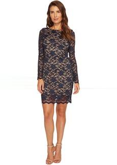 Karen Kane Long Sleeve Lace Dress