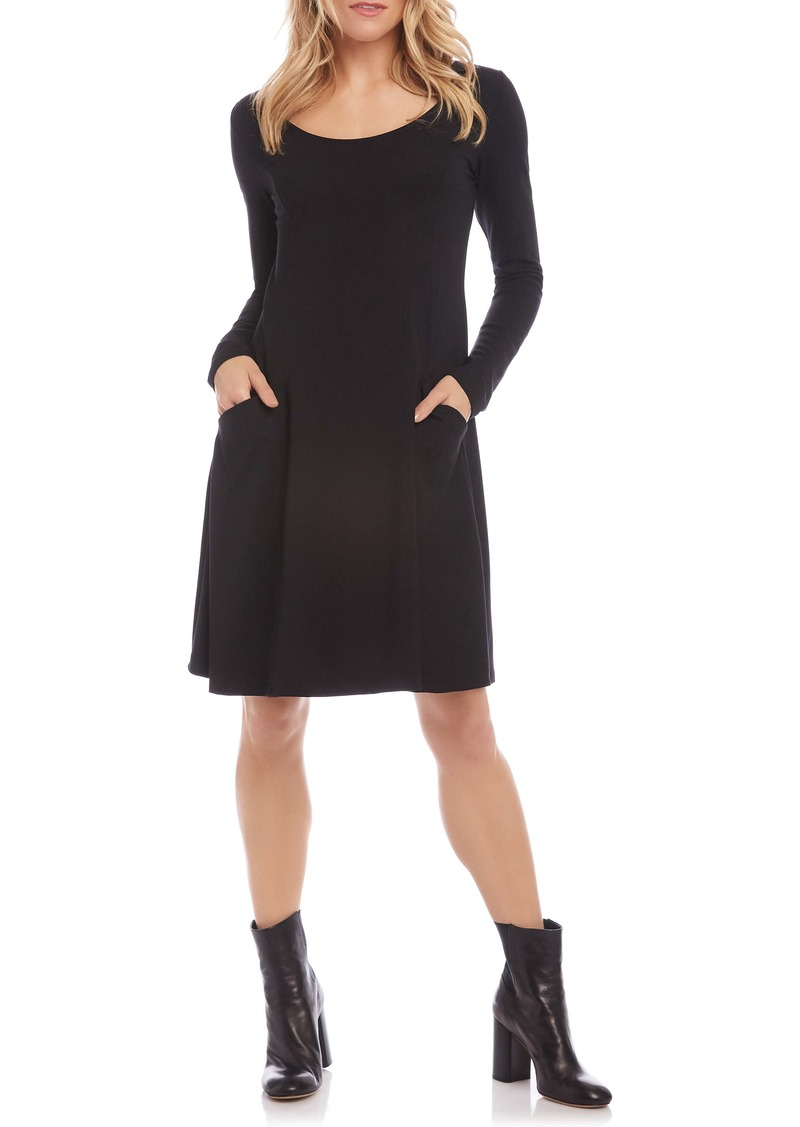 Karen Kane Long Sleeve Pocket Dress