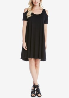 Karen Kane Maggie Cold-Shoulder Shift Dress
