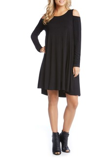 Karen Kane Maggie Cold Shoulder Trapeze Dress