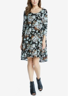 Karen Kane Maggie Floral-Print Shift Dress