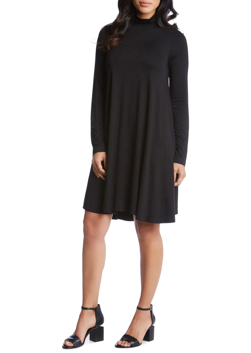 Karen Kane Maggie Turtleneck Trapeze Dress