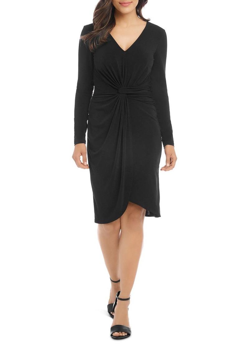 Karen Kane Meghan Twist-Front Dress
