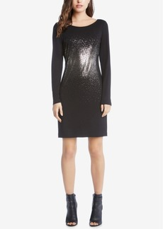 Karen Kane Metallic Sheath Dress