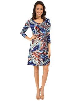 Karen Kane Miami Mirage T-Shirt Dress