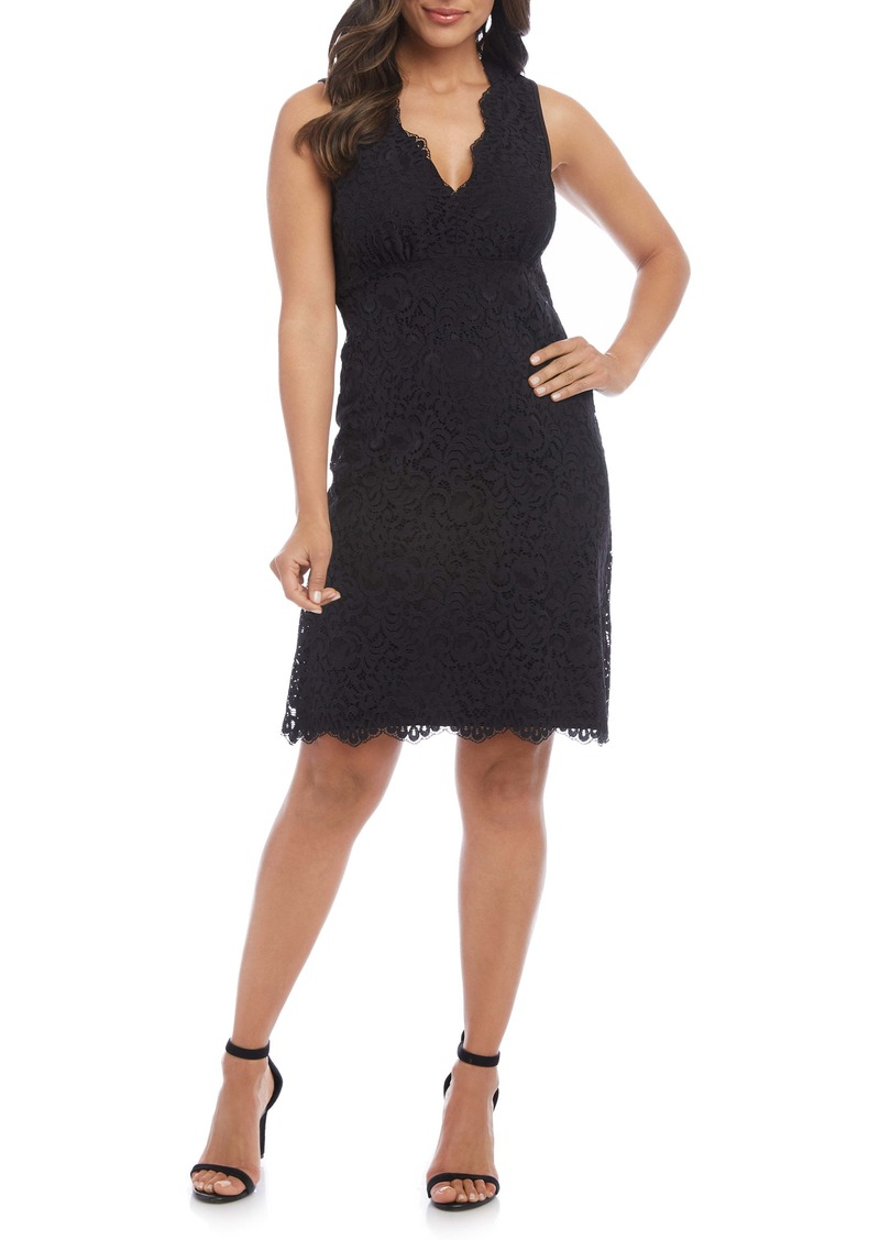 Karen Kane Milan Lace Cocktail Dress