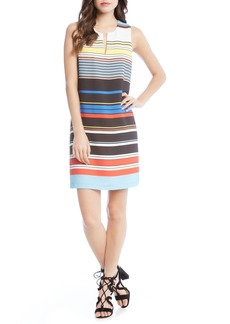 Karen Kane Modern Art Shift Dress