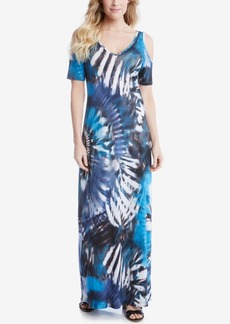 Karen Kane Off-The-Shoulder Maxi Dress