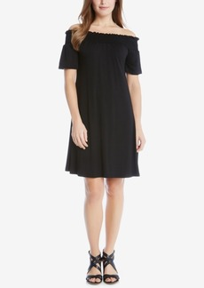 Karen Kane Off-The-Shoulder Swing Dress