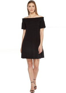 Karen Kane Off the Shoulder Swing Dress