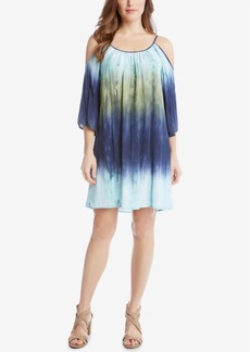 Karen Kane Ombre Cold-Shoulder Dress