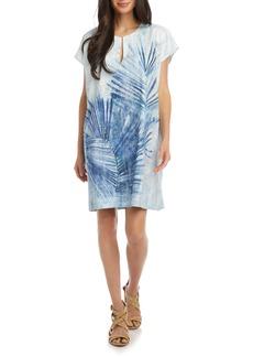 Karen Kane Palm Print Shift Dress