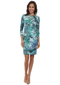 Karen Kane Palmilla Print Bodycon Dress
