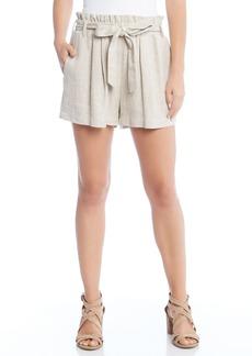 Karen Kane Paperbag Waist Shorts