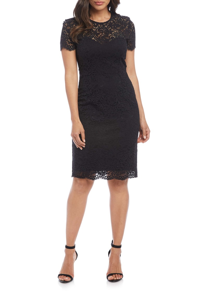 Karen Kane Paris Lace Cocktail Dress