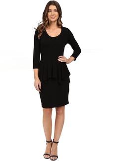 Karen Kane Peplum Sweater Dress