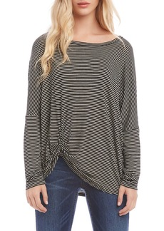 Karen Kane Pick Up Stripe Top