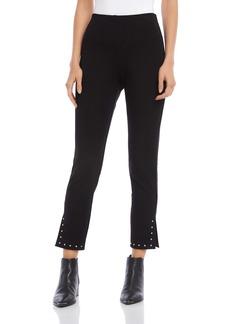 Karen Kane Piper Studded Hem Ankle Pants