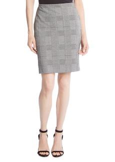 Karen Kane Plaid Pencil Skirt