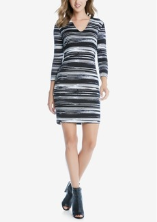 Karen Kane Printed Bodycon Dress