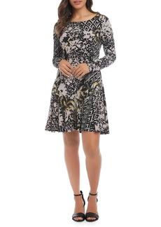 Karen Kane Printed Dakota Dress
