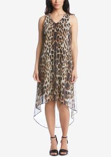 Karen Kane Printed High-Low Dress
