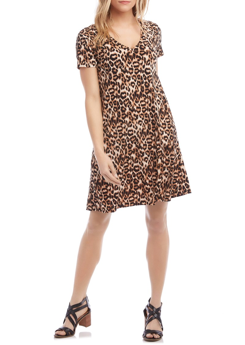 Karen Kane Quinn Leopard Swing Dress