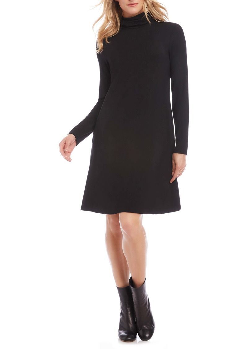 Karen Kane Quinn Long Sleeve Turtleneck Dress