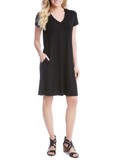 Karen Kane Quinn Pocket Shift Dress