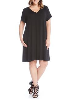 Karen Kane Quinn Pocket Shift Dress (Plus Size)